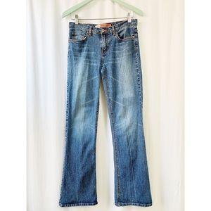 Buffalo boot cut, mid-rise jeans